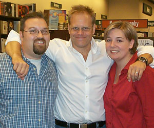 Allison and I with Alton Brown