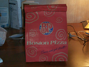 Boston Pizza a Chain in Canada