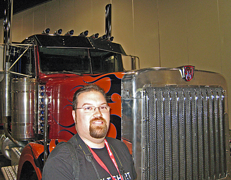 With Optimus Prime - Botcon 2007