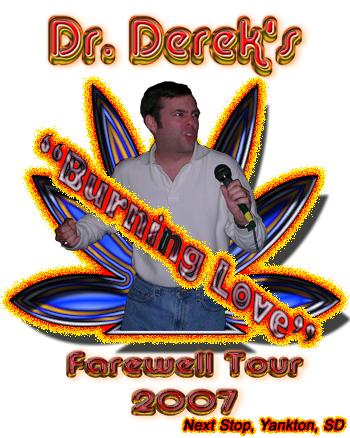 Burning Love Tour shirt