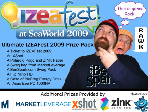 Ultimate IZEAFest 2009 Prize Pack