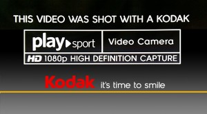 This video was shot with a Kodak PlaySport