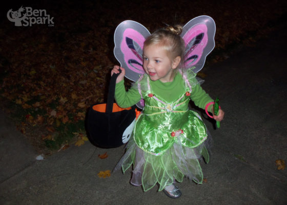 Sweet Tinkerbell Girl