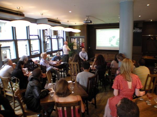 London Blog Club