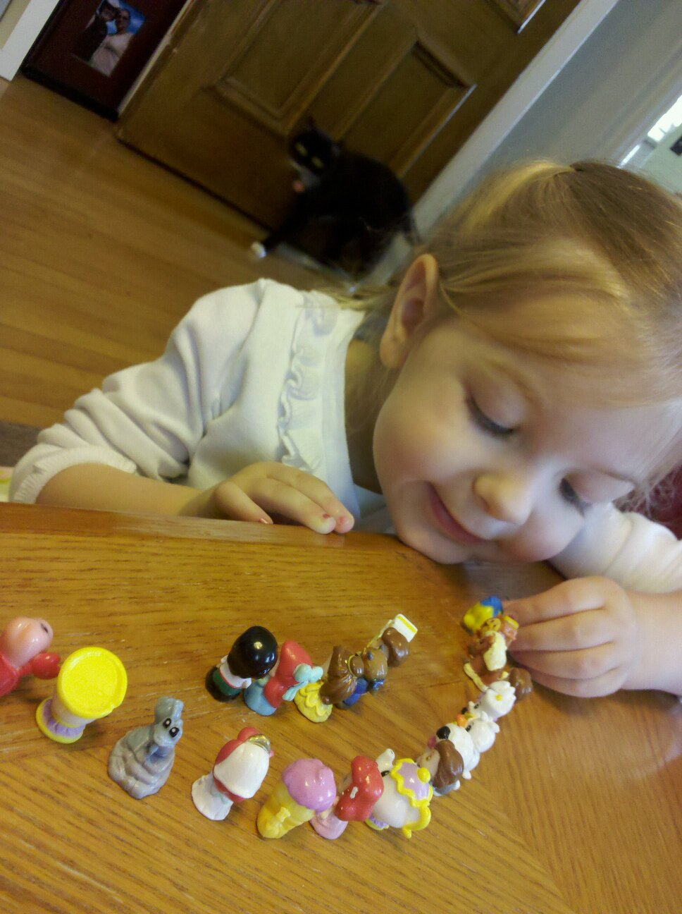 Eva and her Squinkies