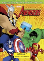 The Avengers Earth's Mightiest Heroes! Volume 1 Heroes Assemble
