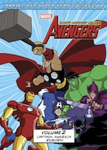 The Avengers Earth's Mightiest Heroes! Volume 2 Captain America Reborn!