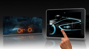 Tron Legacy Second Screen
