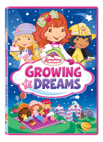 Strawberry Shortcake: Growing Up Dreams DVD Box Art