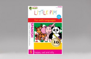 "Little Pim Spanish ""happy, sad and silly"" (DVD 5)"