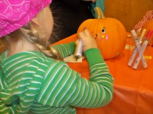 Pumpkin Decorating