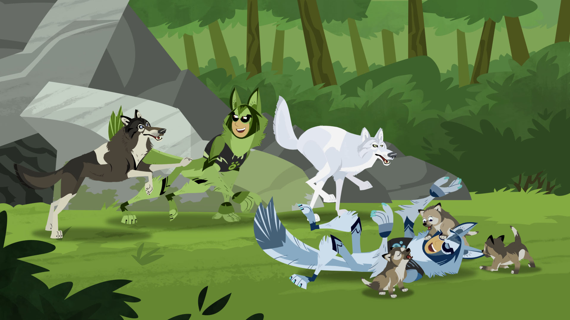 "Wild Kratts - ""Little Howler"""