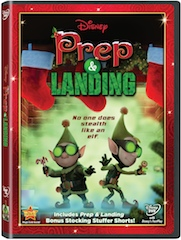 Prep And Landing on DVD November 22, 2011