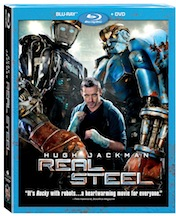 Real Steel Blu-Ray & DVD