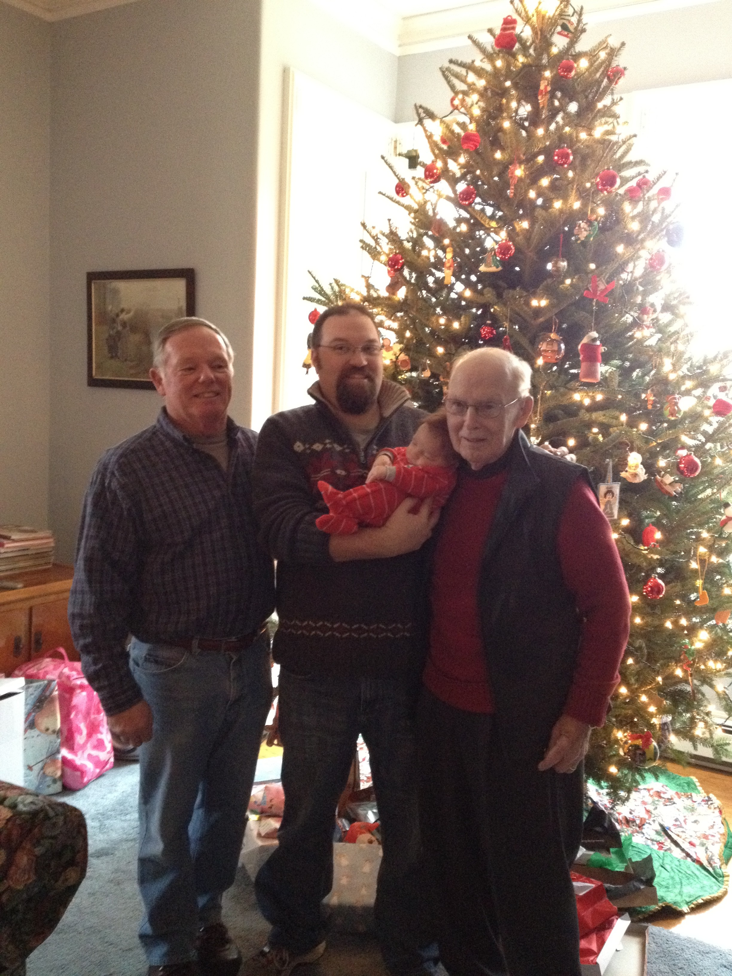 Four Generations of Andrew Bennett