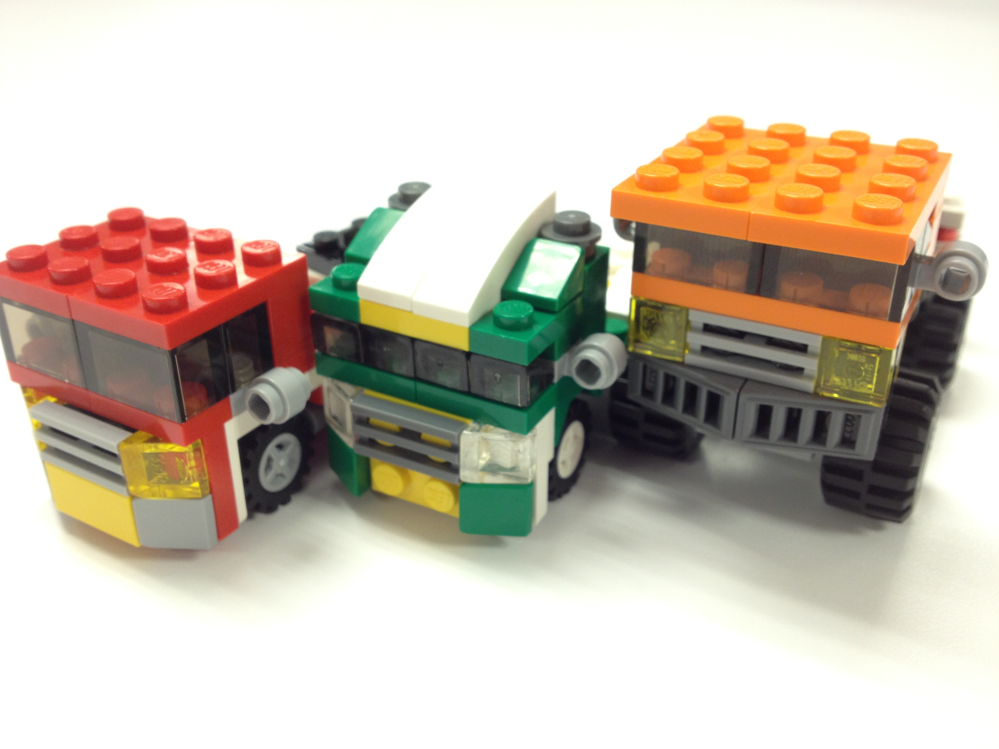 LEGO Big Rigs on Small Scale