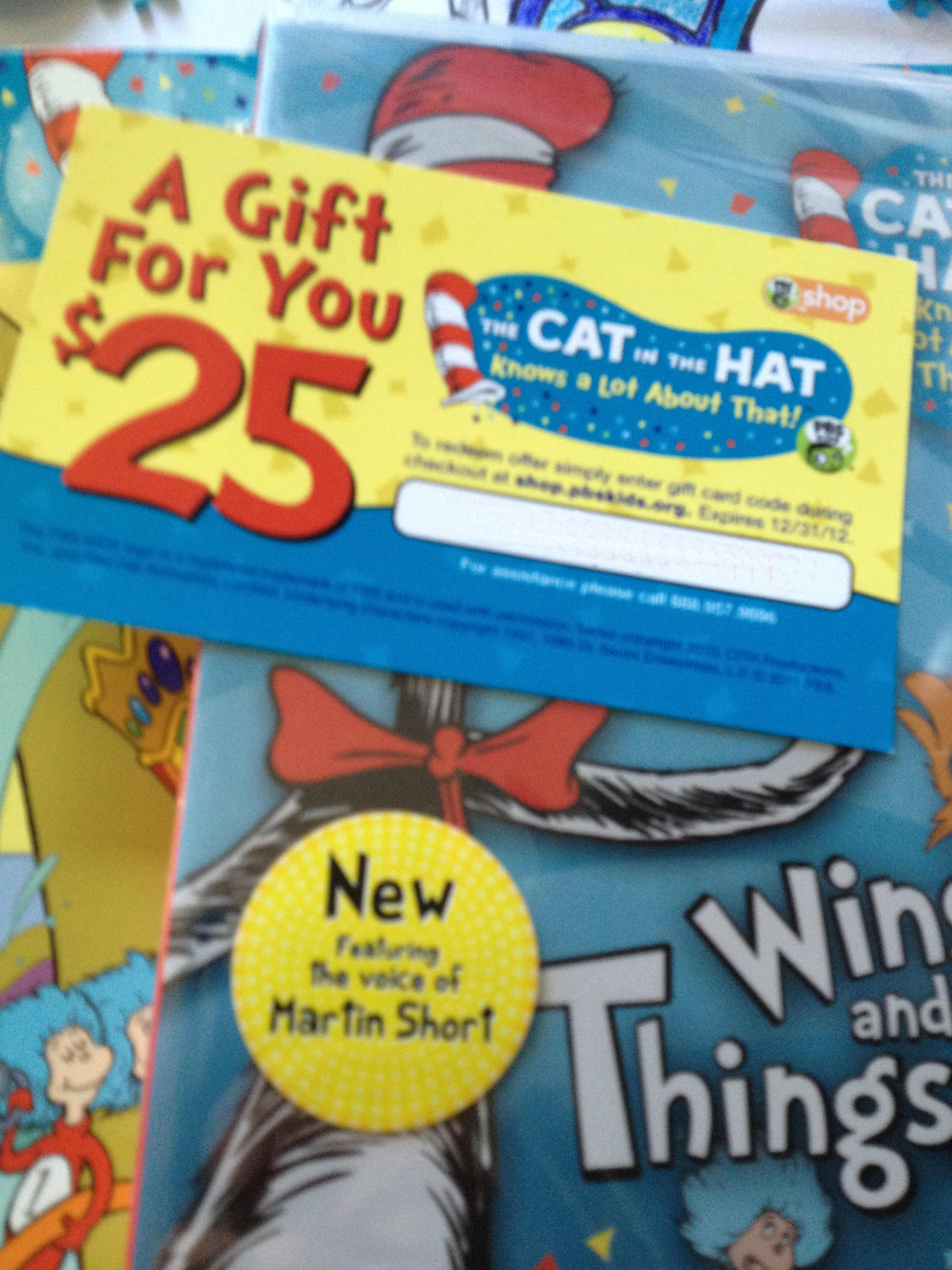 Cat in the Hat Knows A Lot About That Prize Pack