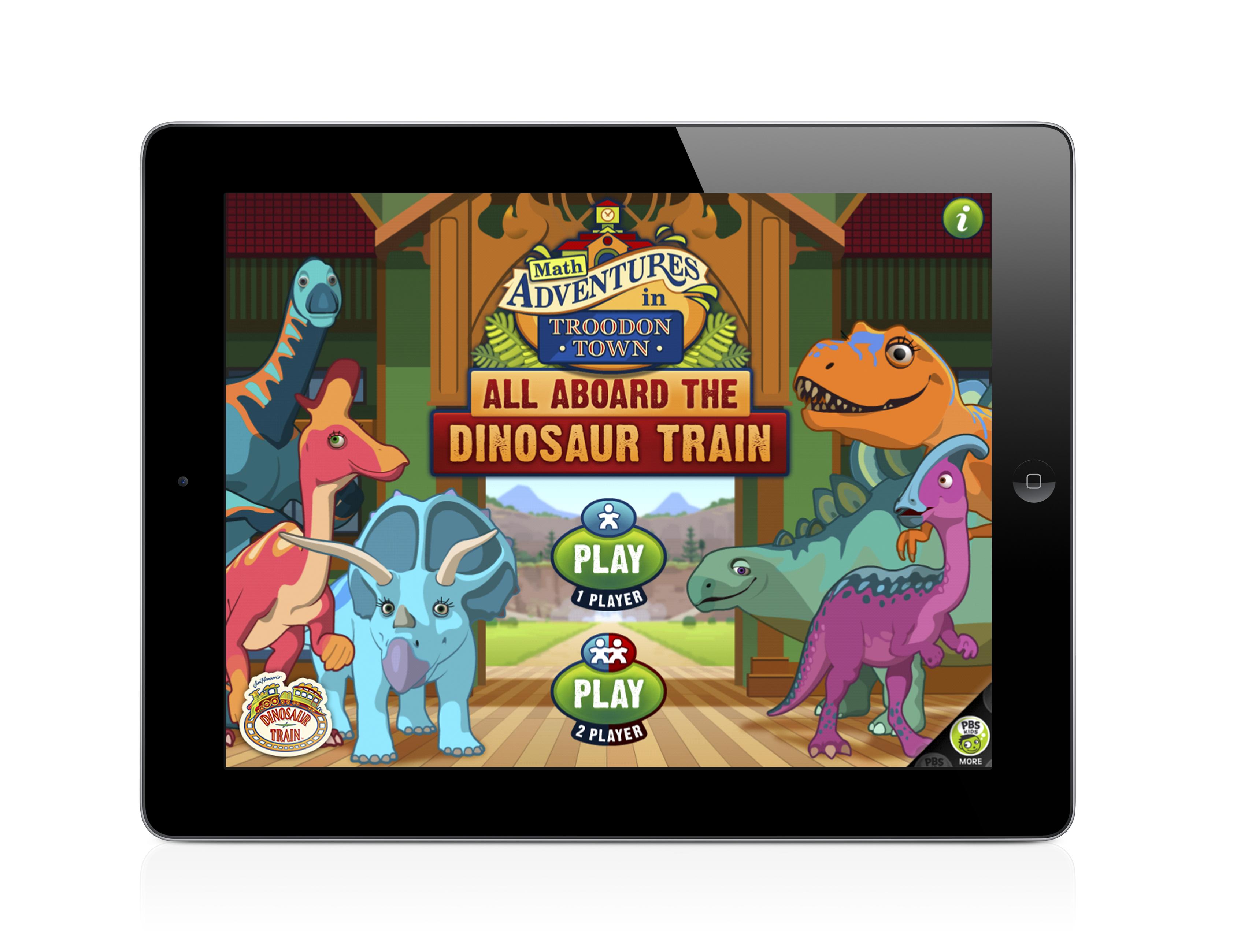 Dinosaur Train All Aboard App