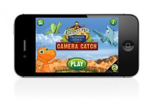Dinosaur Train Camera Catch iPhone App