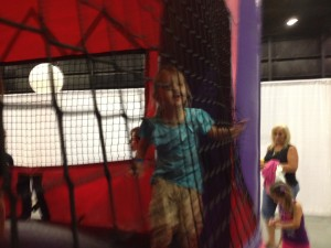 In the Princess Bounce House