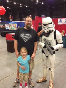 Meeting one of the 501st