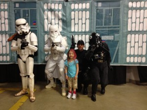 Eva with more of the 501st Legion