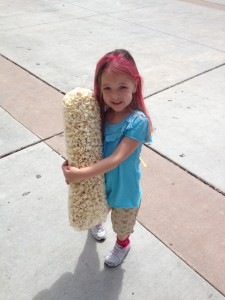 Nearly Three Feet of Kettle Corn!