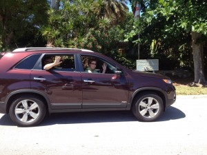 We Took the Kia Sorento to the Palm Beach Zoo