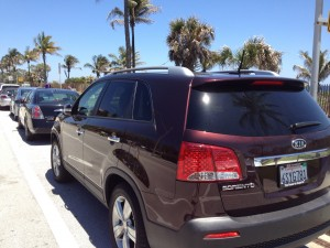 We Took the Kia Sorento to the Beach