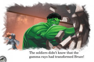 Avengers Origins: Hulk iPad/iPhone App from Marvel Reads