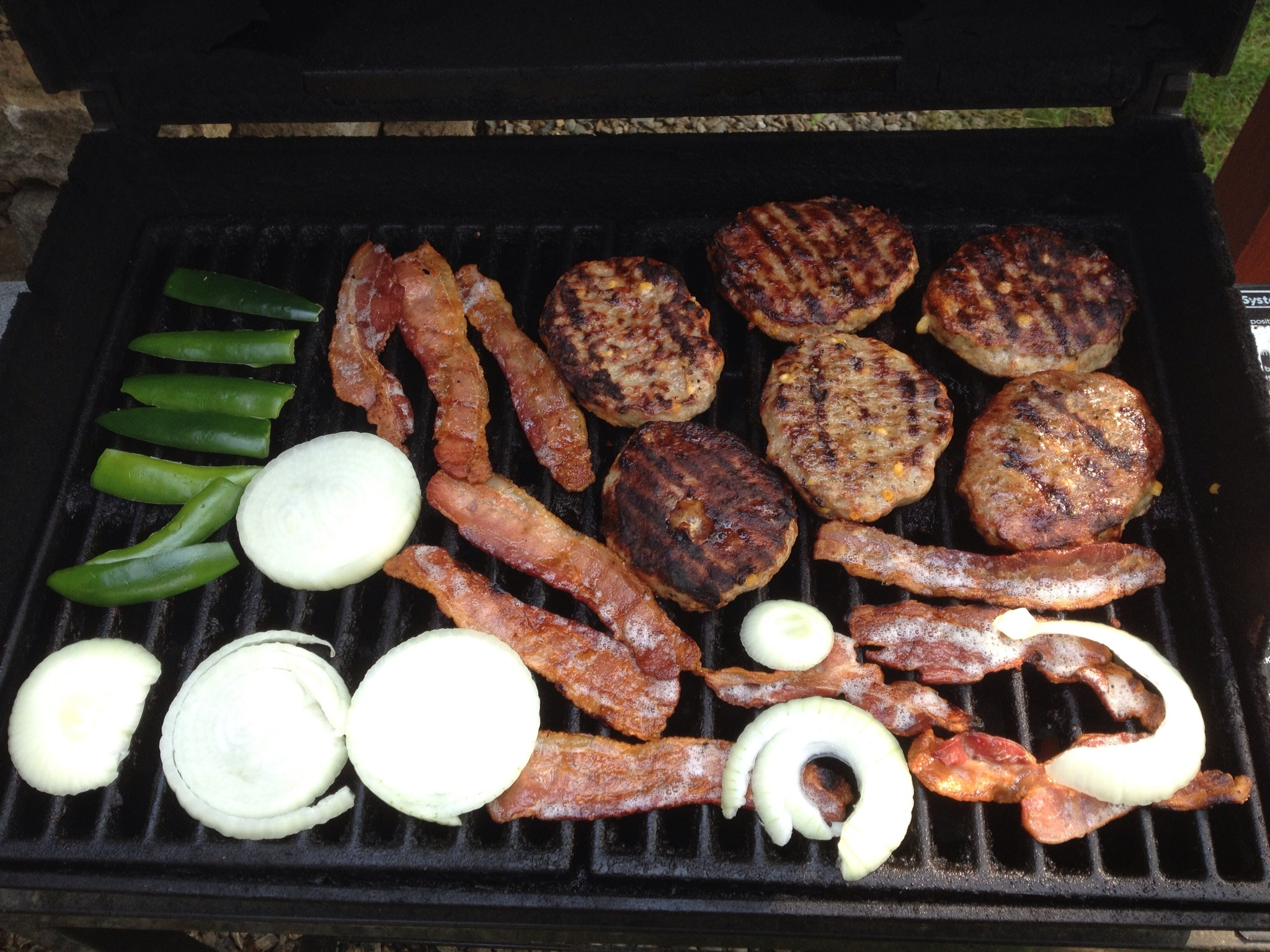 Introducing Johnsonville's Cheddar Bratwurst Patties at a Memorial Day BBQ