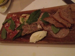 The Salumi Antipasti