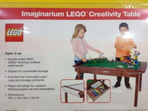 The New LEGO table.