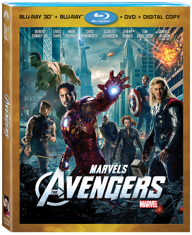 Avengers on Blu-Ray Combo Pack September 25TH