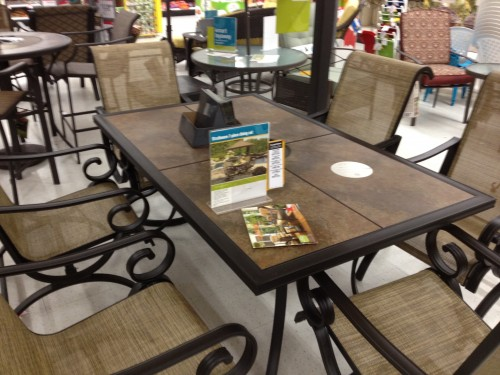 This is the Table and chairs we are buying.