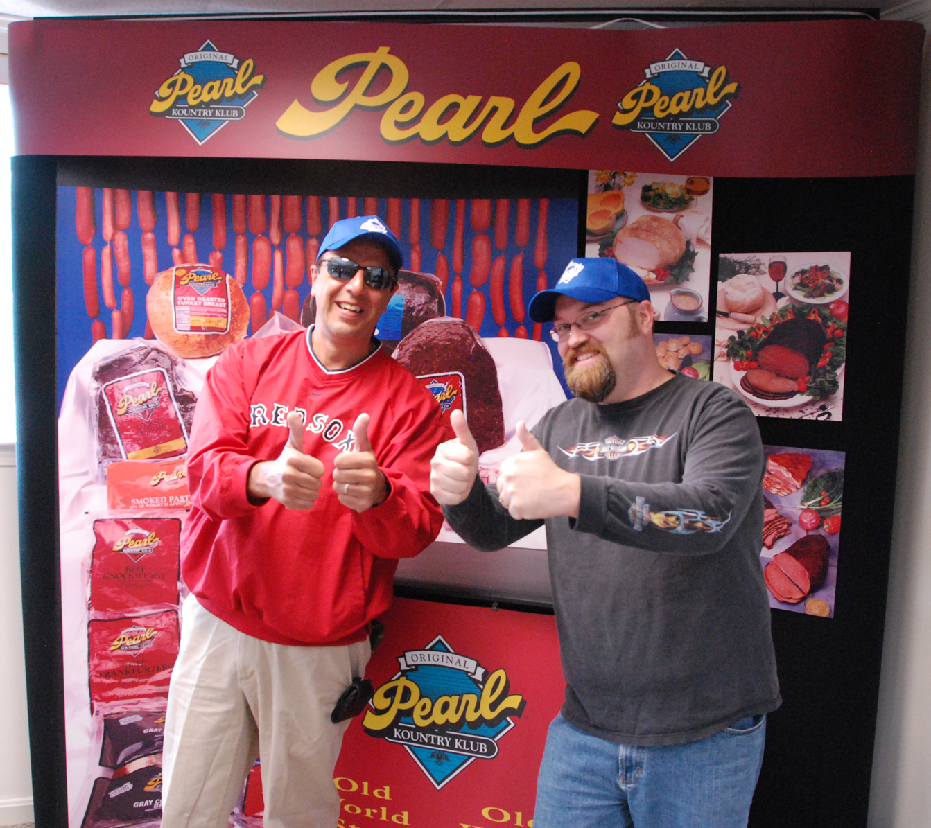 After our Tour of Pearl Meat Packing we give it Two Thumbs Up!