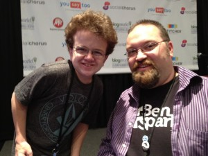 Me and Keenan Cahill at BWENY 2012