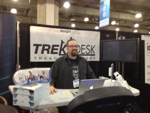Testing out the TrekDesk