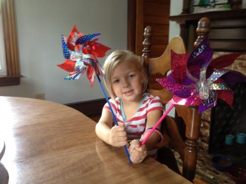 Maui Toys Flashing Pinwheels
