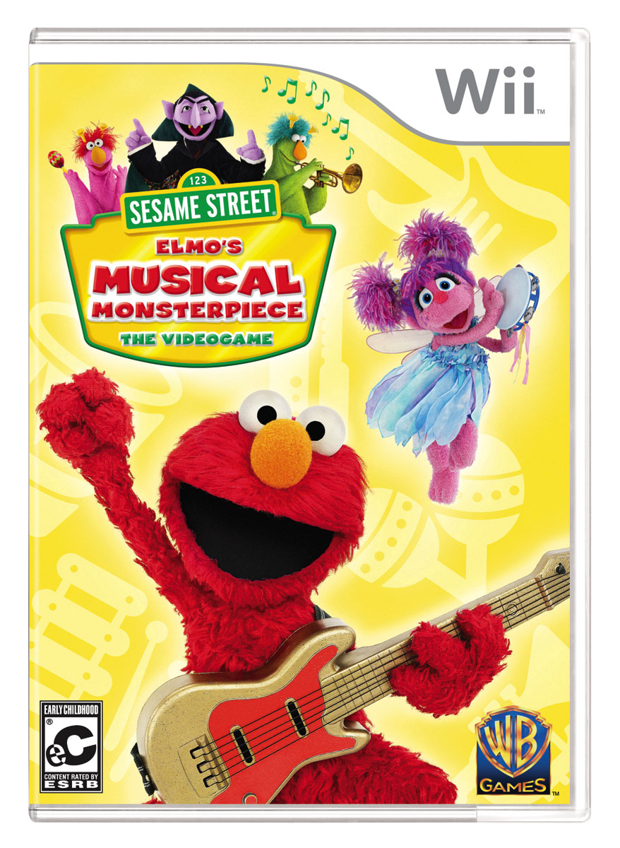 Video Game Review: Sesame Street: Elmo's Musical Monsterpiece