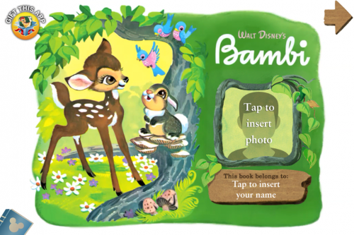Personalize your Bambi App