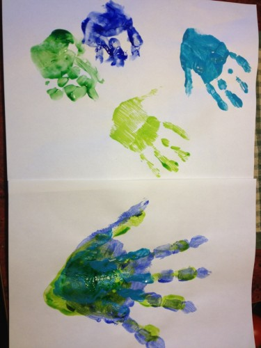 Family Handprints