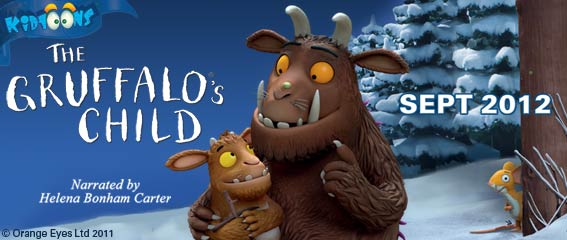 KidToons September Movie: The Gruffalo's Child