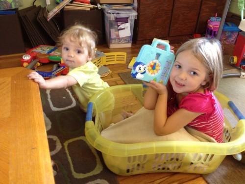 Eva loving her talking clock from WonderMind Kids