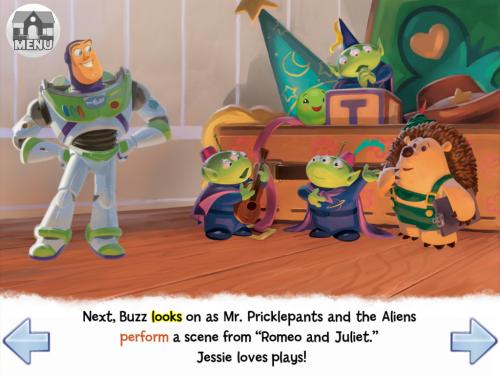 Help Buzz Impress Jessie