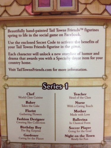 Tail Towns Friends Figurines Box information