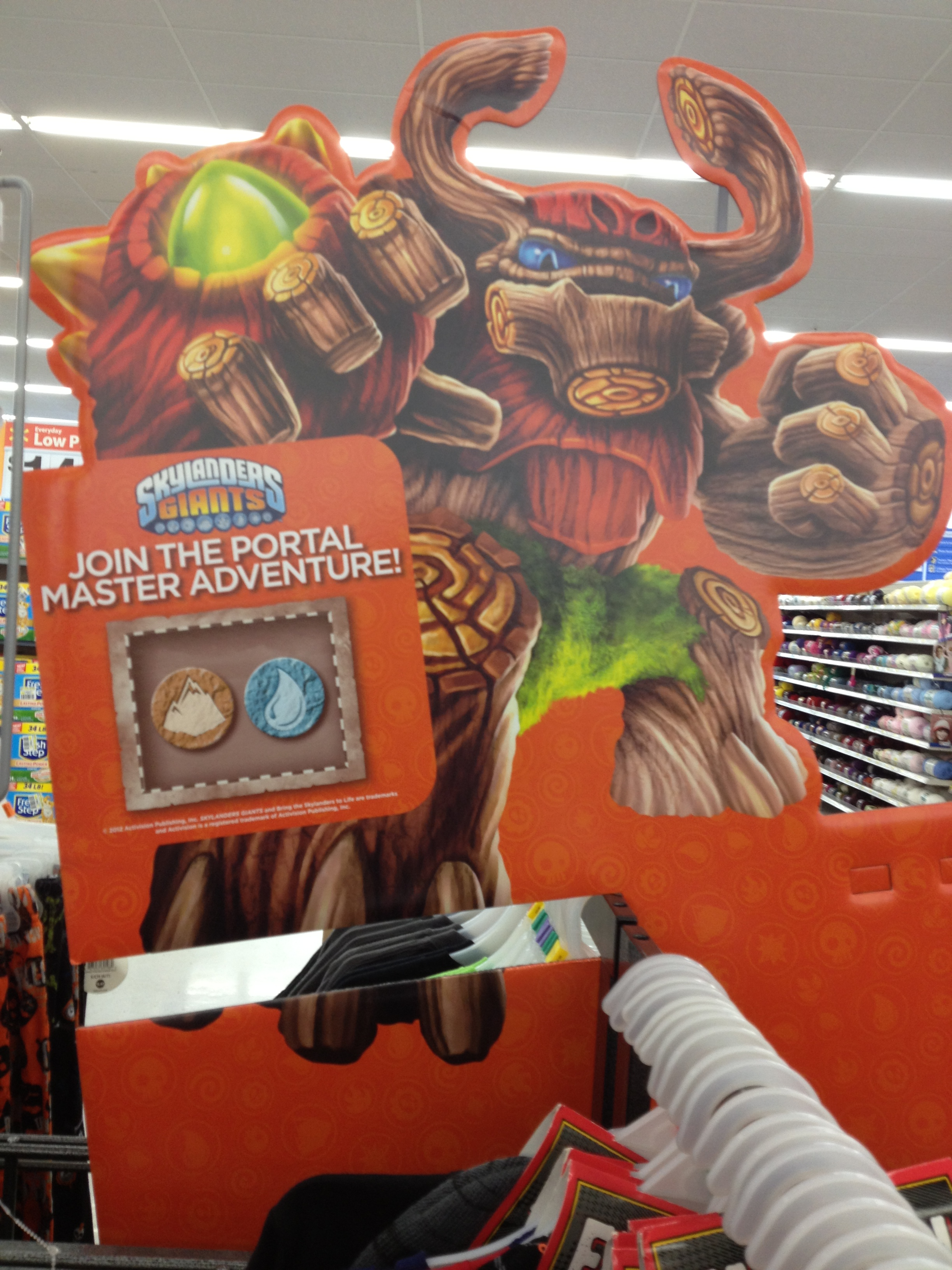 Skylanders Elemental Sticker Station