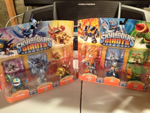 Skylanders Giants Three Packs