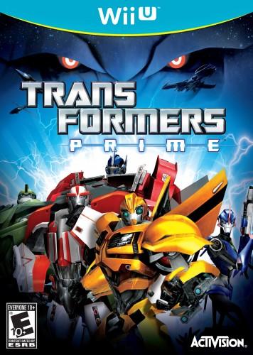 Transformers Prime - Wii U Box Art