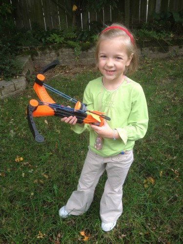 Eva with the Air Storm Z-Tek Crossbow